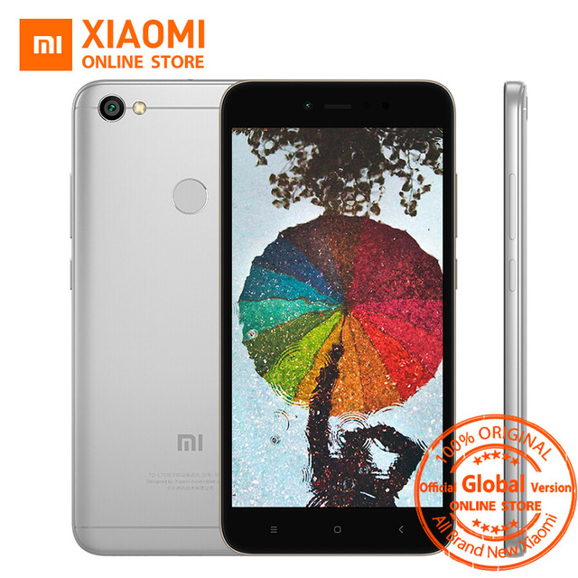 Глобальная версия Xiaomi Redmi Note 5A 5 3 ГБ 32 ГБ мобильный телефон Snapdragon 435 4 ядра Процессор 16.0MP Фронтальная камера отпечатков пальцев