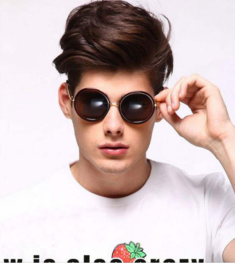 Men Round Sunglasses  aliexpress com demarkt stylish sunglasses women men eyewear