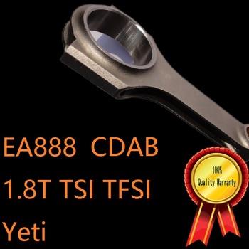 EA888 VAG silnika dla 1 8 T 1 8 TSI TFSI I4 kod silnika CDAB skoda Yeti samochód kute korbowód wysokiej BHP C V tuning motor sports tanie i dobre opinie 4 cylinder 2009-Present MSMOST engine enhancement 4340 Mechanizm korbowy 1 8T 1 8TSI 1 8TFSI Applied for VW EA888 VAG 1 8 TSI TFSI