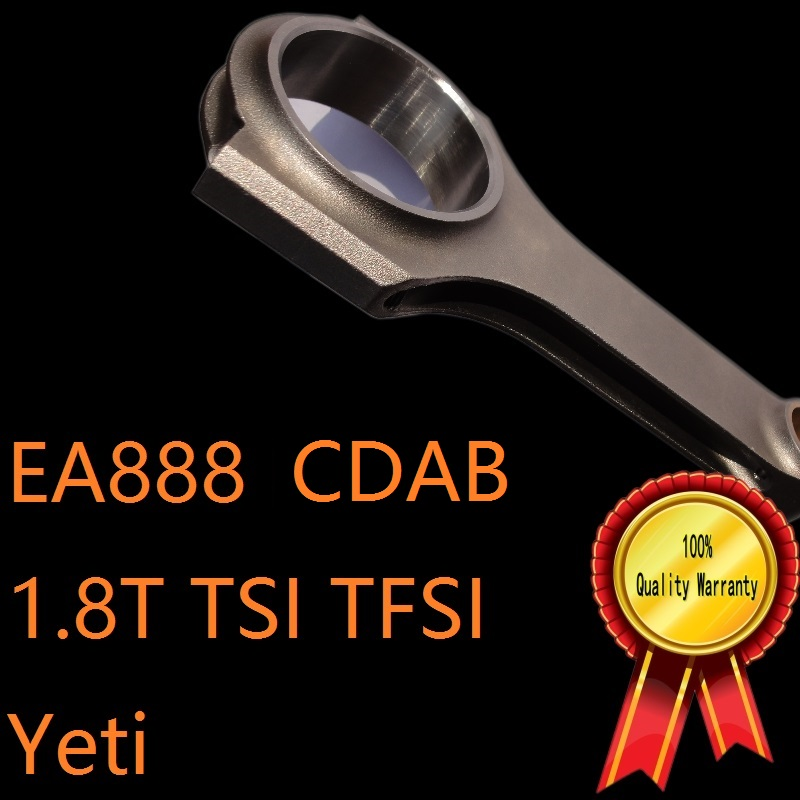 EA888 engine VAG for 1.8T 1.8 TSI TFSI I4 engine code CDAB skoda Yeti car forged connecting rod high BHP C.V tuning motor sports фиксатор натяжителя цепи vag 1 8 2 0 tsi tfsi jtc 4450