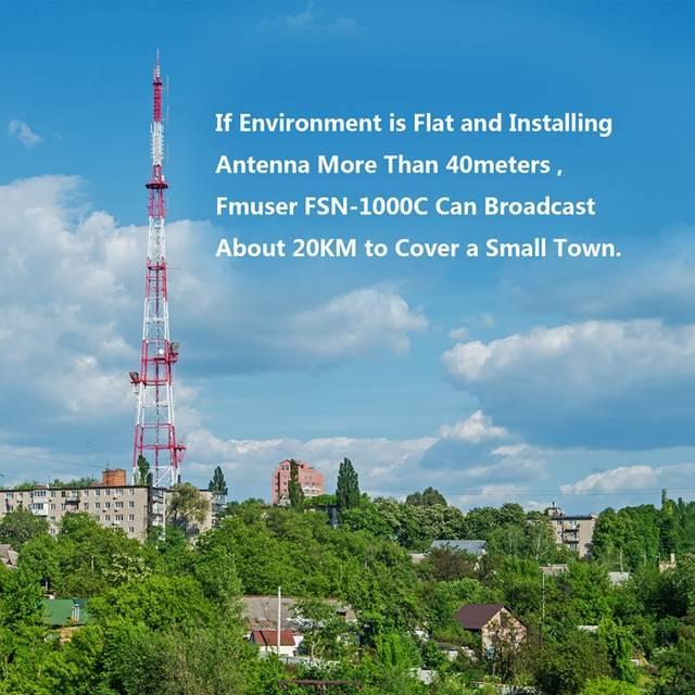 US $4510 0 |FSN 1000C DSP 1000Watts 1KW FM Transmitter and 2 bays DV2  Antenna to fm Radio Station-in Radio & TV Broadcast Equipments from  Consumer