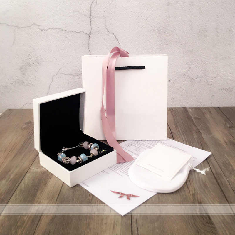 Mingshang high quality Jewelry  box  bracelet box Gift box 5pcs one set