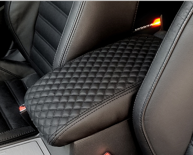 1pc for FAW BESTURN X40 X80 B50 B70 B30 2013 2018 Armrest box cover Protective pad decorate in Interior Mouldings from Automobiles Motorcycles