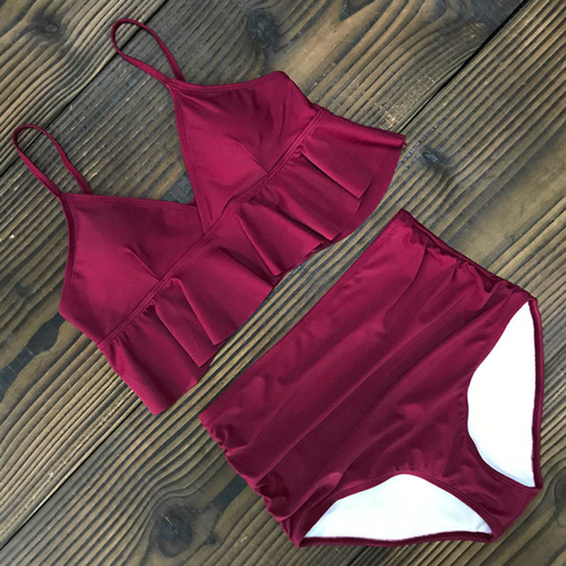 2019-New-Sexy-High-Waist-Bikini-Swimwear-Women-Swimsuit-Push-Up-Ruffle-Bathing-Suit-Biquini-Plus.jpg_640x640 (10)