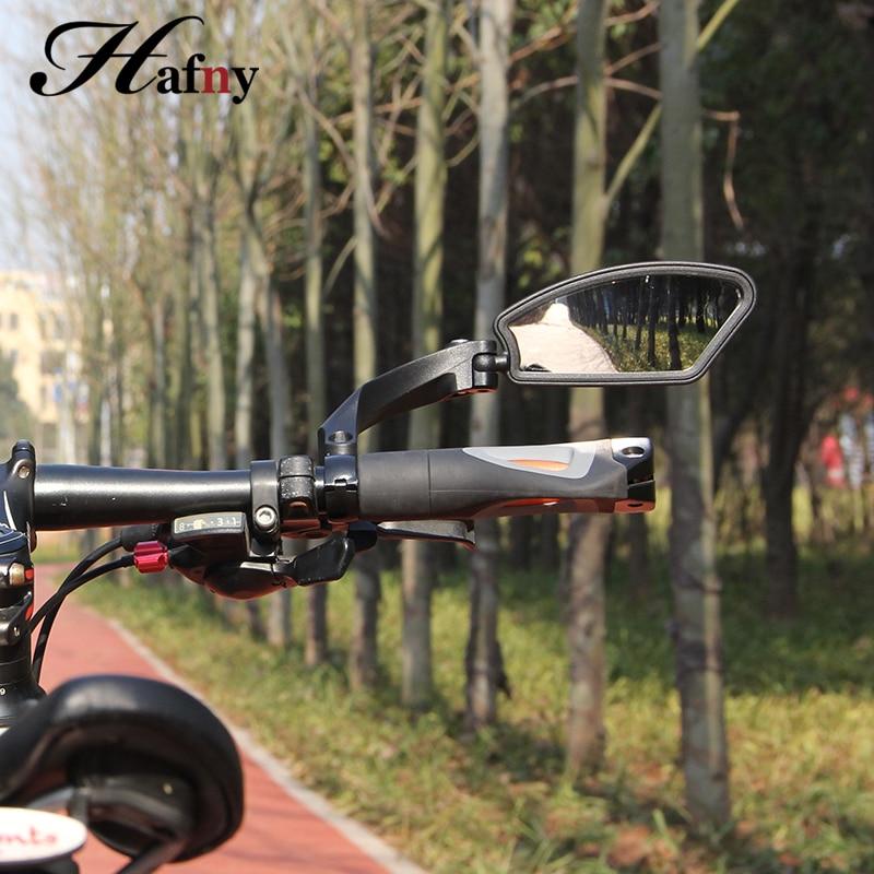 Fast Shipping Hafny HF-MR081 Cycling Wide Angle Handlebar Rear View Mirror,Right
