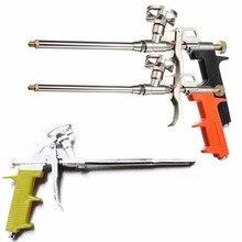 Aplicador de aplicación en aerosol expansible de grado pistola de espuma PU pesado profesional naranja amarillo negro longitud 28cm