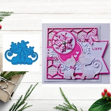 Love Cat Metal Cutting Dies Stencil DIY Paper Card Album Making Scrapbooking Template Embossing Craft New 2019