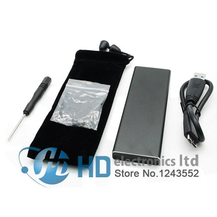 USB3.0 para 7 + 17 pino Adaptador SSD Hard disk Enclosure para 2012 MacBook Air A1465 A1466 MD223 MD224 MD232 64G 128G 256G 512G SSD