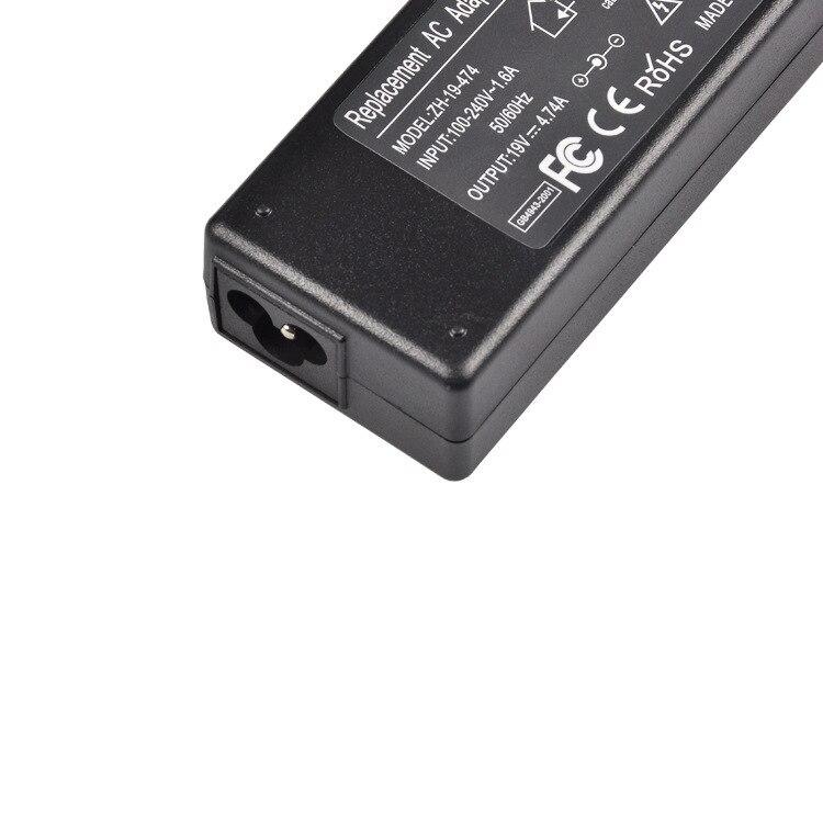 19V 4.74A 90W Universal Power Adapter Charger For Acer Asus Dell HP Lenovo Samsung Toshiba Laptop 18.5V 19.5V 20V 13