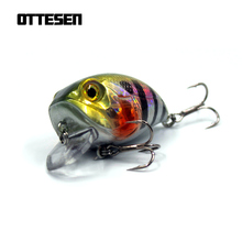 OTTESEN 1pcs/lot 46mm 8g crankbaits fishing lure isca artificial lures pesca peche wobblers bait jerkbait bass fish