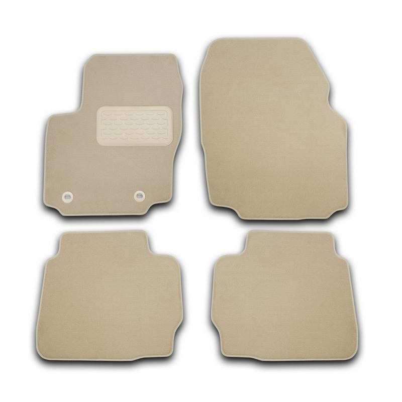 Mats in the salon For VOLVO S60 AUTOMATIC TRANSMISSION 2010->, сед... 4 PCs (textile, beige) масштабная модель volvo s60