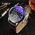 100% original marca yazole 2017 relógio de quartzo homens top marca de luxo famoso relógio de pulso men sports watch yazole 271
