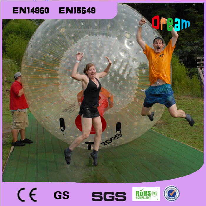 Free Shipping 2.5m PVC Inflatable Zorb Ball For Bowling Outdoor Human Bowling Sport Inflatable Body Zorb Ball inflatable zorb ball race track pvc go kart racing track for sporting party