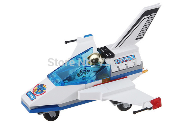 mini space shuttle enlighten building block set. Black Bedroom Furniture Sets. Home Design Ideas
