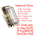 Full cover Tempered Glass guard For Huawei Honor 5C For Honor 8 Note 8 V8 For Huawei P9 P9 Plus Mate 8 Without Retail Package