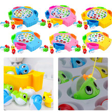 Musical Fishing Rotating Toy Set Fish Game Educational Fishing Toy Child Birthday Gift Baby Educational Toys musical fishing rotating toy set fish game educational fishing toy child birthday gift baby educational toys