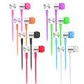 EARFUN Original Con Cable En La Oreja de 3.5mm Jack de Auriculares Con Mirophone Auricular Para iPhone Para Samsung Sony HTC Teléfono Móvil Del Envío nave