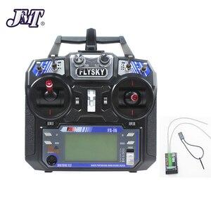 Image 5 - Jmt Volledige Kit Diy Gps Drone Rc Glasvezel Frame Multicopter Fpv APM2.8 1400KV Motor 30A Esc Flysky 2.4GFS I6 zender