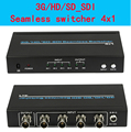 Ultra-high resolution 3G/HD/SD_SDI  Seamless switcher 4x1 4 in 1 out,Supports 300m for SD, 200m for HD  and 100m for 3G signals