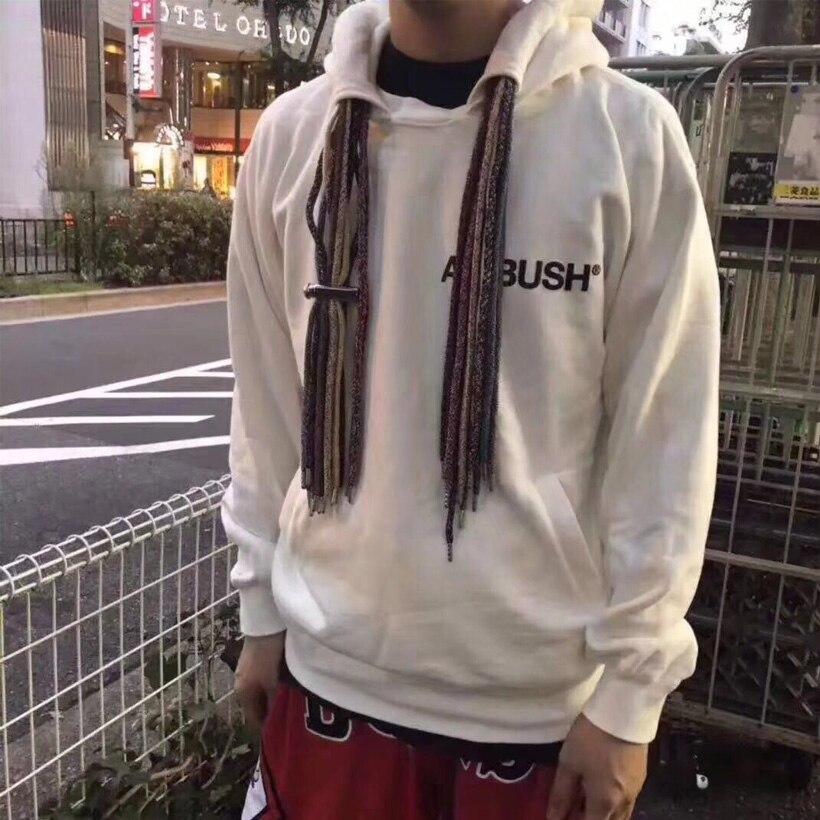 EMBUSCADE À Capuche Hommes Femmes 18SS Haute Qualité Vêtements Pull Sweat Streetwear Hip-Hop Planche À Roulettes Justin Bieber Hoodie 4 Couleur