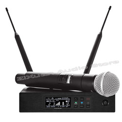 Professional True Diversity UHF Stage Performance Wireless Handheld Microphone Headset Lavalier Wireless Microphone System MIC
