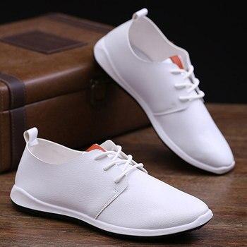 Simple Solid Colors Men's Casual Shoes