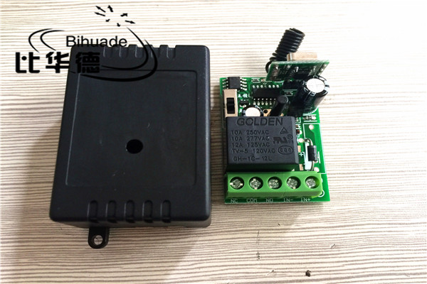 Universal Remote Control Transmitter And Receiver Circuit