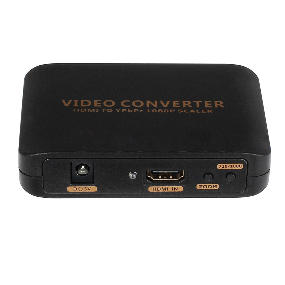 1080P HDMI to 5RCA RGB YPBPR Scaler Component Video Audio Converter For SKY HDTV 7600 component video to vga video converter change ypbpr to composite video