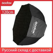 Godox Portatile 120 centimetri 47in Octagon Umbrella Softbox con Griglia A Nido Dape Foto Riflettore A Nido Dape Softbox per Flash Speedlight