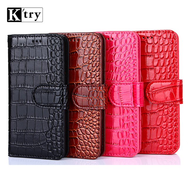 k'try Case Funds for Doogee Shoot 1 PU Leather+Soft Silicon Wallet Flip Cover for Doogee Shoot 1 Case Fundas