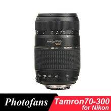 Tamron 70-300 Lens for Nikon 70-300mm f/4-5.6 Di LD Macro Telephoto Lenses D3200 D3300 D3400 D5300 D5500 D5500 D5600 D7200