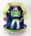 CAJA de Color original de Toy Story 3 Buzz Lightyear Juguetes Talking Buzz Lightyear PVC Figura de Acción De Colección modelo de Juguete 30 CM niños regalo