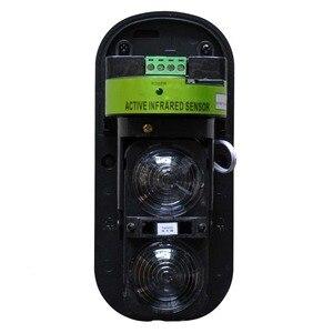 Image 3 - 2020 açık kablolu/kablosuz ışın dedektörü kızılötesi, su geçirmez ve yıldırımdan korunma, ev Alarm sistemi, 2 kızılötesi kirişler
