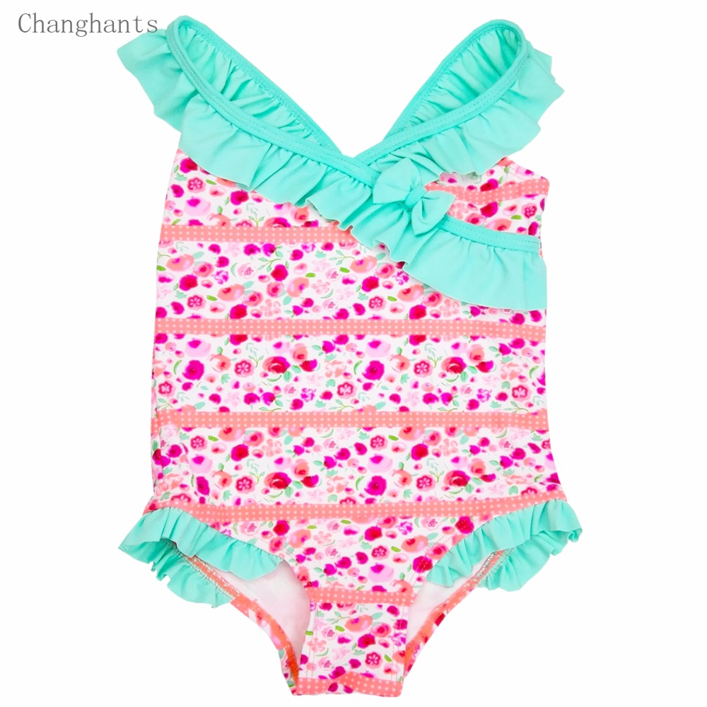 Երեխաներ լողազգեստներ 2-6Y վարդագույն - Սպորտային հագուստ և աքսեսուարներ - Լուսանկար 1