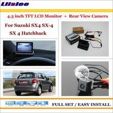 For Suzuki SX4 SX-4 SX 4 Hatchback MK1 MK2 2006~2015 - Car Reverse Rear Camera + 4.3