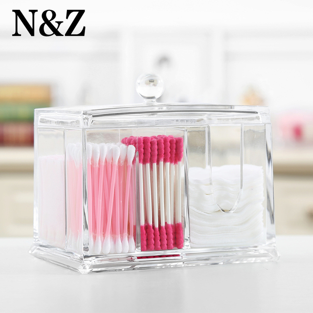 New Clear Acrylic Jewelry Box Cosmetic Organizer Makeup Home Store
