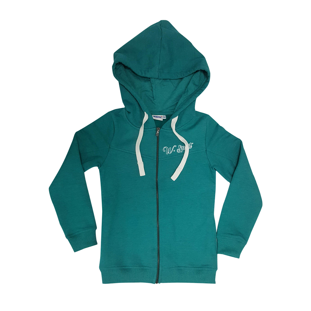 Hoodies & Sweatshirts Winkiki for girls WTG81046 Cardigan Sweatshirt Coat Children clothes Kids db6955 dave bella baby girls spring summer fashion cardigan kids toddler coat lovely children knitted sweater