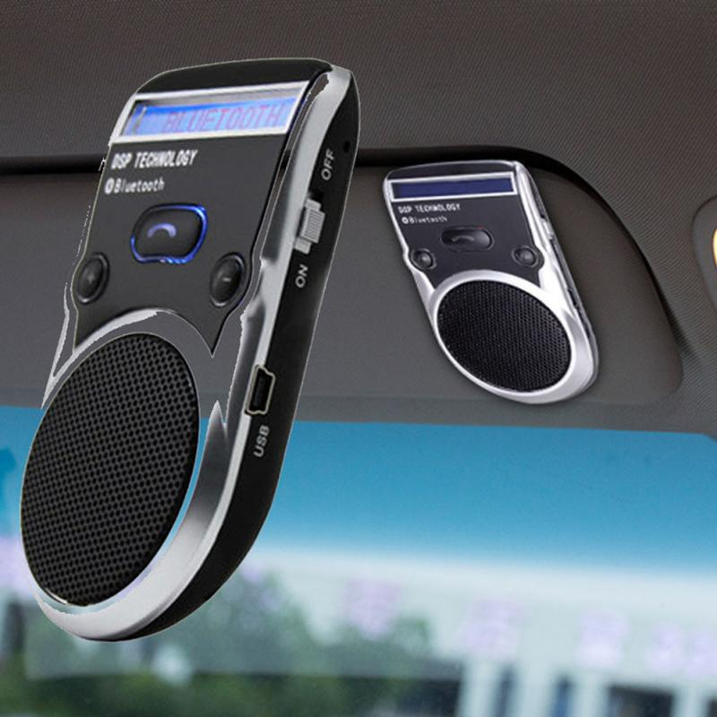 Auto Car Bluetooth Handsfree Kit Phones Audio Receiver Calls Voice Speaker High Quality Car AUX Home Audio System Devices