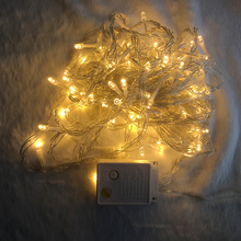 LED string light 10M 100LEDs fairy lights 8 modes 110V/220V For Garden Wedding Party Decoration Garland Christmas Holiday light цена в Москве и Питере