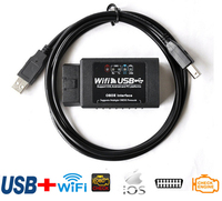 Nieuwe update elm327 wifi usb elm327 usb scanner diagnostic tool elm 327 wifi obd-ii ondersteuning android/iph0ne/ipad/i-p-0d