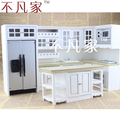 Doll house mini furniture dollhouse miniature kitchen set