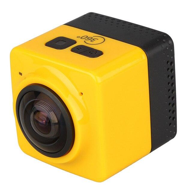CU BE 360 Degree Mini Sports Action panoramic Camera 720P 360-degree VR Camera Build-in WiFi camaras deportivas hd sport camera