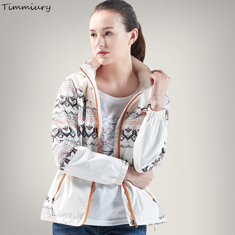 Timmiury Winter Women Jackets Solid Embroidery Long Sleeves Overcoat With Hoodie