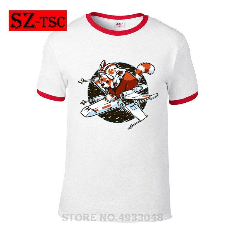 spaceship-pilot-top-25-funny-t-shirt-red-panda-rebel-tshirts-font-b-pokemon-b-font-gengar-totoro-tardis-t-shirts-star-spaceship-dalek-trek-men