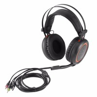 Wired Gaming Headphones A6L USB 7 1 Stereo Surround Sound Over Ear Game Headset Earphone With