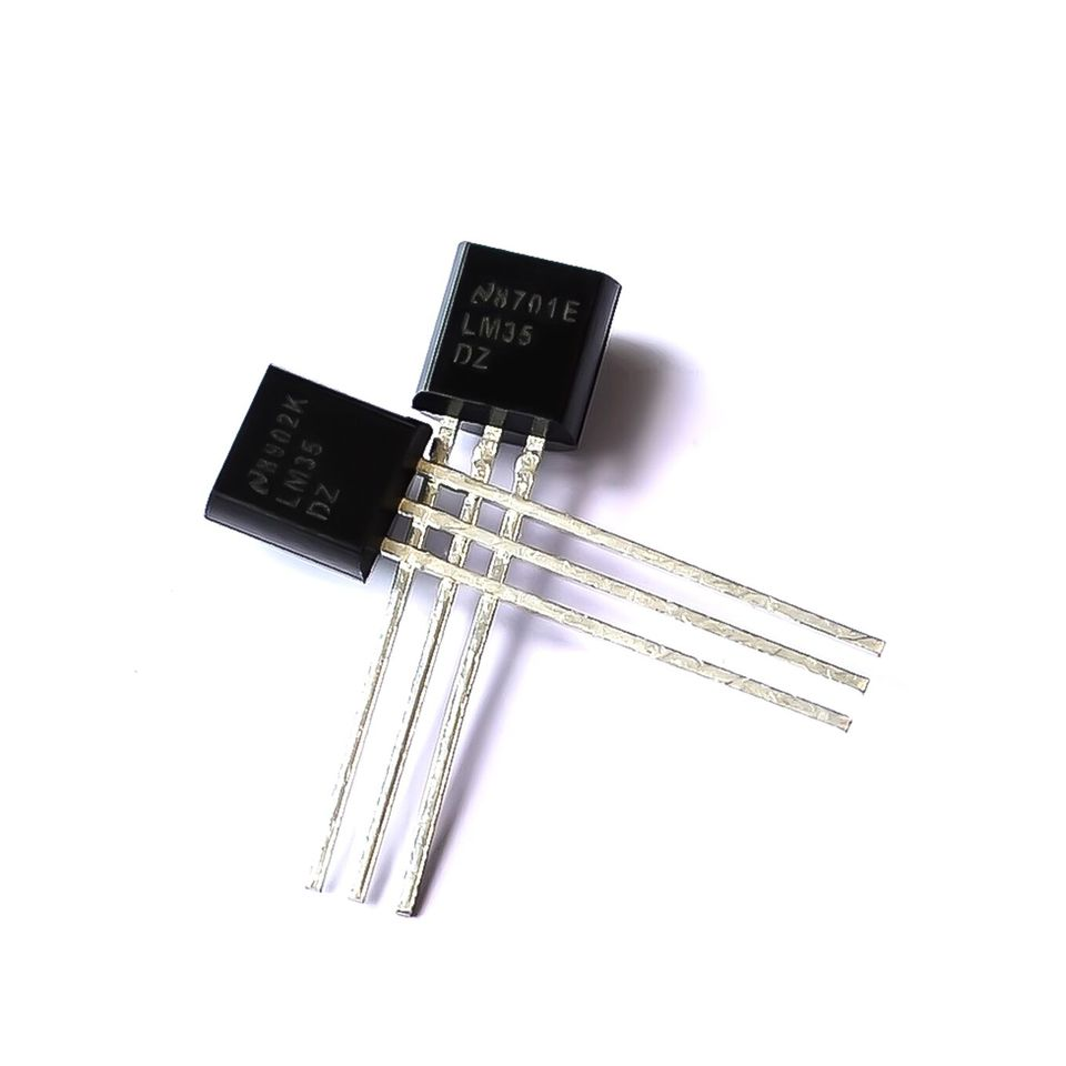 2x LM35CZ 3pin Precision Temperature Sensor IC