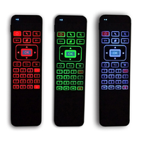 Backlight 2 4G Fly Air Mouse I85 Wireless Mini Gaming Keyboard Remote Control Gamepad For Android