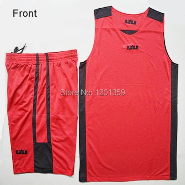 b70af0e41f9 Red with black college basketball uniforms, European basketball uniforms  design