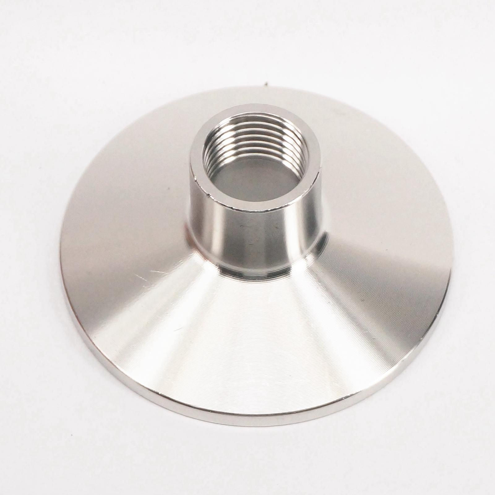 Rohre & Armaturen Rohrverbindungsstücke 1/4 bsp Weibliche X 50,5mm Ferrule O/d 304 Edelstahl Sanitär Ferrule Rohrschelle Montage Anschluss