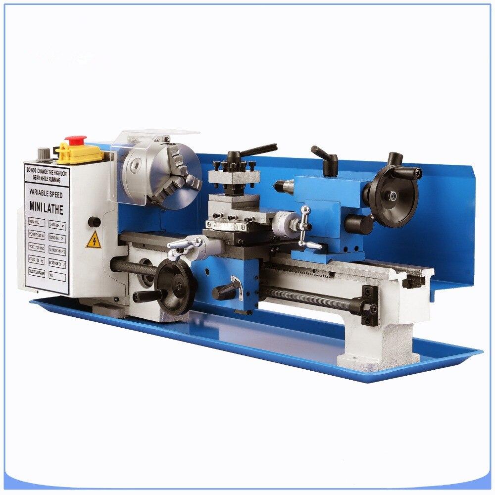 Top verkauf Mini high-Präzision DIY Shop Tisch mini Drehmaschine Werkzeug Maschine Variabler Geschwindigkeit Fräsen